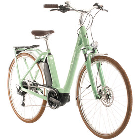 Cube Ella Ride Hybrid 400 Easy Entry, green/white